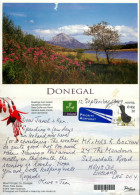 Mt Errigal, Co Donegal, Ireland Postcard Posted 1999 Stamp - Donegal