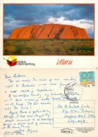 Uluru, Northern Territory, Australia Postcard Posted 1988 Stamp - Uluru & The Olgas