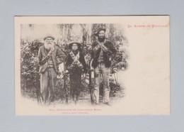 AK Südafrika Transvaal Ungebraucht ~1902 Drei Generationen Boers Kämpfer - Afrique Du Sud