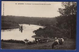 29 PLOMELIN La Rivière, Le Virecourt Du Saut De La Pucelle ; Vaches, Voiliers - Frankreich