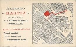 Advertising RE000039 - Italy (Italia) Florence (Firenze / Firenca) Hotel (Albergo) Bastia - Reclame