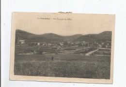 CHALABRE 1 VUE GENERALE DU NORD (EGLISE PONT METALLIQUE ET ENFANT) 1909 - France