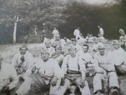 Carte Photo Militaires Chambarand 1921 54ème R.A.C. 4ème Bie 4ème Piève - Régiments