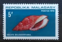 MADAGASCAR 1970. Marine Snail Housing. USADO - USED. - Madagascar (1960-...)