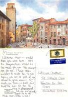 San Gimignano, SI Siena, Italy Postcard Posted 2004 Stamp - Siena