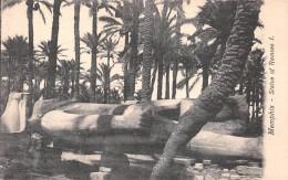 ¤¤  -  EGYPTE    -   MENPHIS    -  Statue Of Ramses I   -  ¤¤ - Cairo
