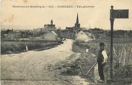 - Depts Div.-ref-JJ548- Allier - Domerat - Vue Generale - Carte Bon Etat - - France