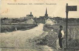 - Depts Div.-ref-JJ548- Allier - Domerat - Vue Generale - Carte Bon Etat - - Frankrijk