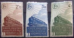 FRANCE             C.P 183/185             NEUF* - Paketmarken