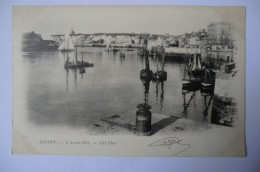 CPA 76 SEINE MARITIME DIEPPE. L Avant Port. 1901. - Dieppe