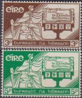IRLANDA  IRELAND - 1958 COSTITUZIONE 140/141 MNH - 1949-... Repubblica D'Irlanda