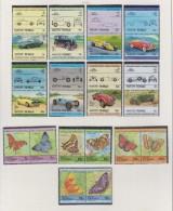 TUVALU VAITUPU 1984 Motiv Auto Und Schmetterlingen - Tuvalu