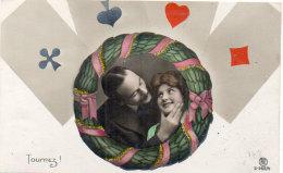 Cartes A Jouer -  Le Jeu Des Cartes -  - As Et Amoureux - Tournez !   (89976) - Carte Da Gioco