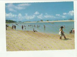 133098 HOLIDAY MAKERS AT SWIMMING LAGOON SENTOSA ISLAND - Cartoline