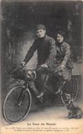 LE TOUR DU MONDE , TANDEM, MR ET MME CADET VOYAGE EN 5 ANS - Cycling