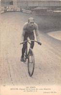 MULLER, GAGNANT DE LA COURSE DES 1000 KILOMETRES SUR BICYCLETTE J.C. - Ciclismo