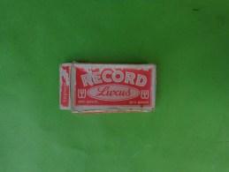 Boite De Lames De Rasoir   RECORD LUXUS  REG TRADE MARK NR 634195 - Razor Blades