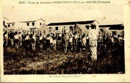 N°50351 -cpa Camp De Vacances D'Arromanches Les Bains - Arromanches