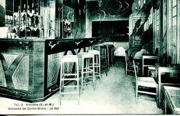 N°50360 -cpa Arbonne -domaine De Corne Biche -le Bar- - Cafés