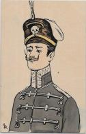 CPA Anti KAISER Germany Allemagne Satirique Caricature Patriotique Non Circulé - Satirical