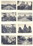 12 Cpa Ruines D'Angkor , Angkor-Vat - Temples, Bayon, Pyramides, - Cambodge