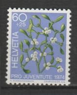 SUISSE  ,N°975     Pro Juventus - Toxic Plants