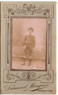 Photo Jeune Homme - Photo Dumesnil Marguin Vincennes   (89985) - Personnes Anonymes