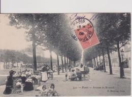 """75 PARIS XV ARRONDISSEMENT  """" Avenue De Breteuil """"  Marmuse N° 552 - Arrondissement: 15"""