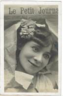 CPA - JOURNAUX - PRESSE - LE PETIT JOURNAL - Pub - Photo Jeune Femme - - Cartes Postales