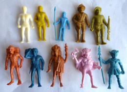 Tres RARE Série Complète FIGURINE PUBLICITAIRE PRIME DUNKIN ? - MONOCHROME TARZAN - 10 Figurines - Figurines