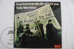 LP Vinyl Record Album - The Beatles With Tony Sheridan: First Recordings - Spanish Edition - Polydor 1974 - Rock