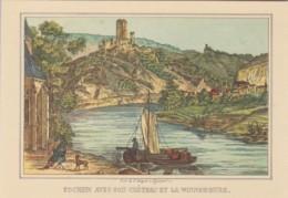 Germany Die Mosel Von Metz Bis Koblenz Cochem Avec Son Chateau E