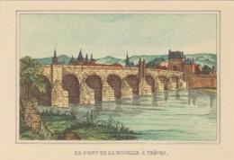 Germany Die Mosel Von Metz Bis Koblenz Le Pont De La Moselle A T