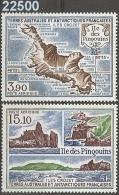 1988 - YT 100-101 ** - VC: 9.80 Eur. - Corréo Aéreo