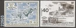 1989 - YT 103-104 ** - VC: 10.90 Eur. - Corréo Aéreo