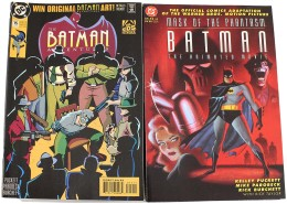 1990s-2000s BATMAN COMIC BOOK COLLECTION (x700+) - Stamps