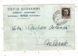BERGAMO - TREVIGLIO - CEFIS GIOVANNI - TESSUTI-MERCERIE - Bergamo
