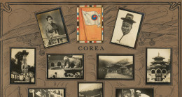Set Of 13 Pictures Korea Advert Tabacalera Cubana Cuba Flag Seoul Hat Market Baker Blacksmith Sentence To Death - Korea, South