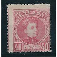 ES251STV-LFT***251STCFR.España.Spain. Espagne.REY ALFONSO Xlll CADETE .1901.(Ed 251**)  Sin  Charnela - Familias Reales