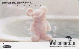 Télécarte Japon / 110-011 - DISNEY - MICKEY / Parapluie - Japan Phonecard Telefonkarte - Disney