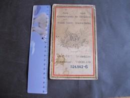 AUX COMBATTANTS DE LA GRANDE GUERRE-LA PATRIE RECONNAISSANTE- Carnet De MICHAUX Jean,N2 2/11/86,dom à Houtain St Siméon - 1914-18