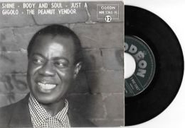 45 TOURS LOUIS ARMSTRONG -- JUST A GIGOLO - Jazz