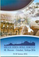 TURKEY 2016 UNESCO WORLD HERITEGE COMMITTE 40TH SESSION, ISTANBUL SPECIAL PORTFOLIO M03172 - 1921-... Republic