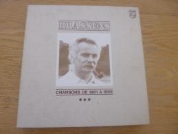 Georges Brassens. 2 Coffrets. 6 33T. DE 1952 à 1956 Et De 1961 à 1966. Philips - Vinyl Records