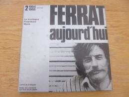 Jean Ferrat Aujourd'hui. Coffret. 3 33T. DE 1952 à 1964 à 1966. Temey - Vinylplaten