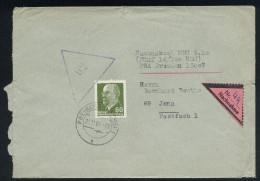 A4163) DDR Nachnahme-Brief Von Freiberg 21.11.66 Mit EF Mi.1080 - DDR