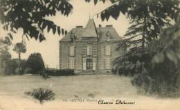 Dép 85 - Chateaux - Aizenay - Château Delaroze - 2 Scans - état - Aizenay