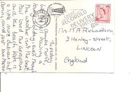 Guernesey ( Carte Postale De 1964 Vers La Grande-Bretagne à Voir) - Guernesey