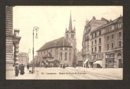 Lausanne - Eglise Et Place St-François  N° 18 - VD Vaud