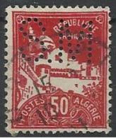 Colonie ALGERIE N° 79A SM 34 Indice 3 Perforé Perforés Perfins Perfin - Ohne Zuordnung
